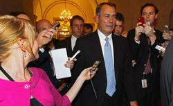 U.S. Speaker of the House John Boehner. Click image to expand.