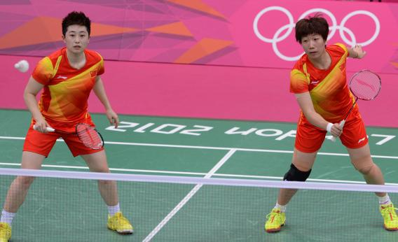 Wang Xiaoli and Yu Yang