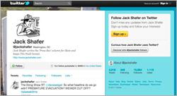 Screengrab of Jack Shafer's Twitter page.