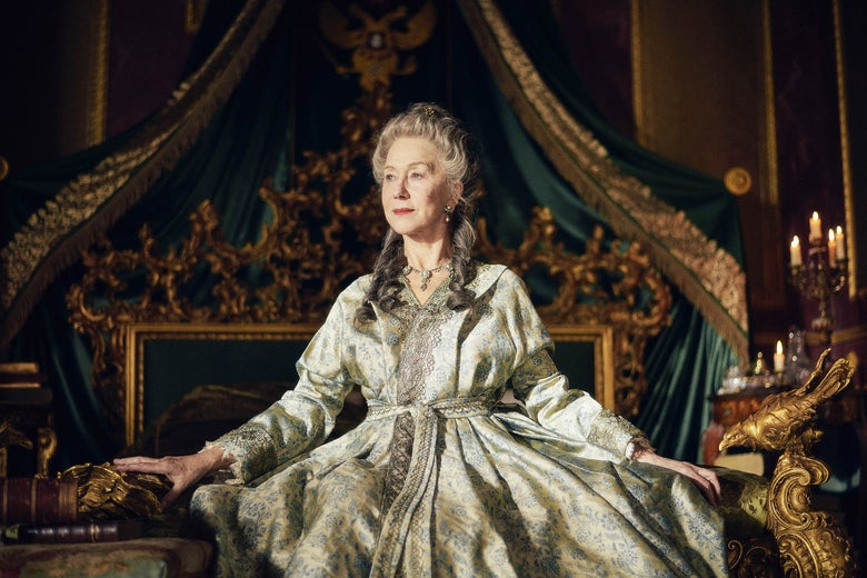 Helen Mirren's Catherine the Great Is Hot Stuff