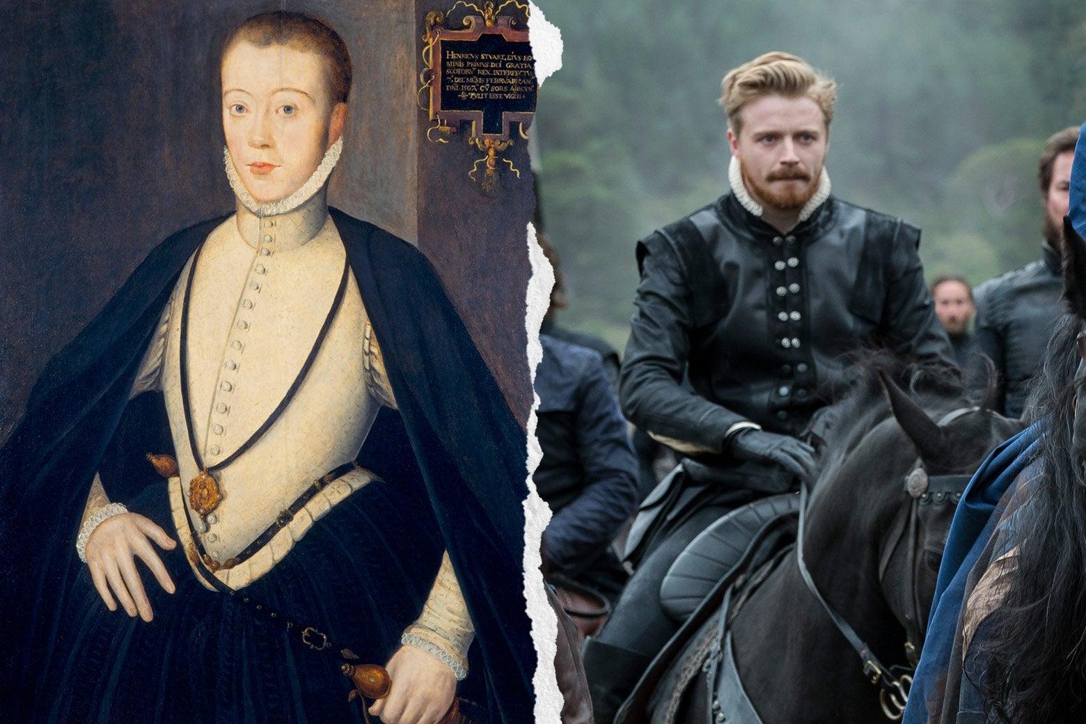 Portrait of Henry Darnley, Jack Lowden as Darnley