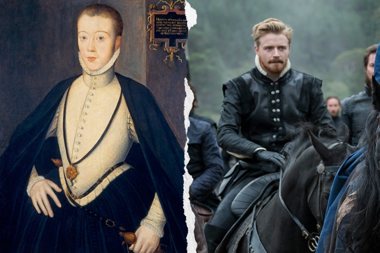 Portrait of Henry Darnley, Jack Lowden as Darnley