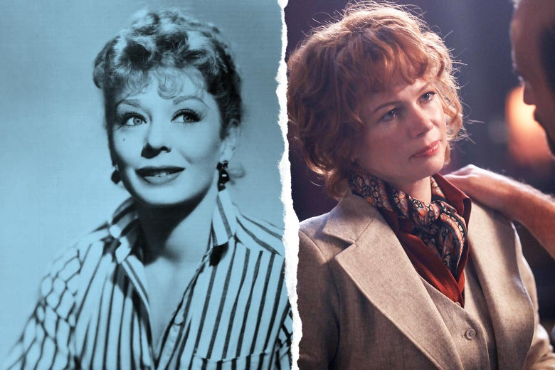 Gwen Verdon and Michelle Williams.
