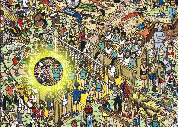 photo about Where's Waldo Printable named Wheres Waldo?: A contemporary tactic for acquiring the lost person