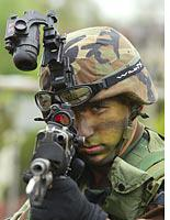 Where'd you get that scope, soldier?          Click image to expand.