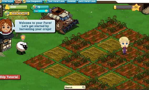 Farmville.