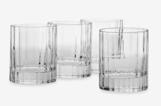 Luigi Bormioli Bach SON.hyx Double Old-Fashioned Glasses.