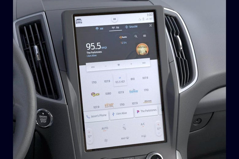 Ford's infotainment system.