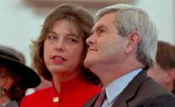 Marianne and Newt Gingrich.