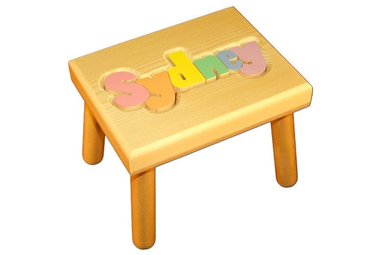 Damhorst Toys and Puzzles Personalized Puzzle Stool