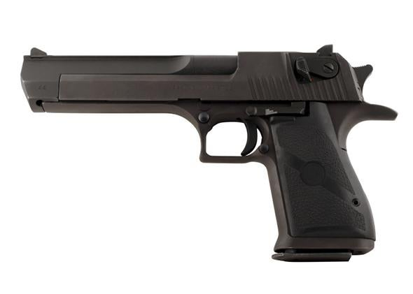 Large 44 Magnum Pistol Profile Isolated
