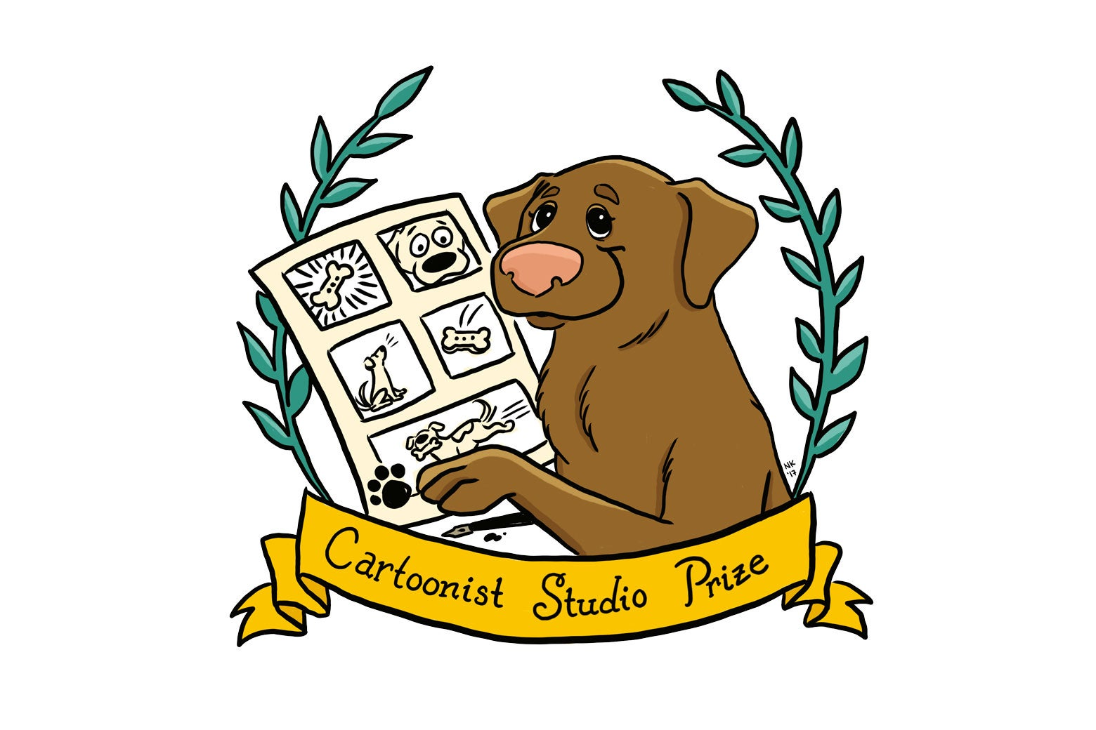 The logo for the Cartoonist Studio Prize.