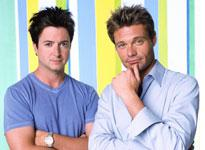 Hosts Brian Dunkleman and Ryan Seacrest