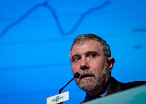 Paul Krugman in Sao Paulo, Brasil in Jan. 2012.