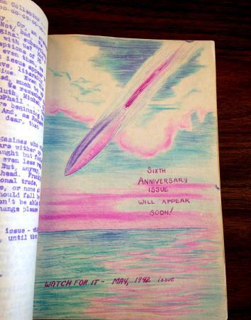 Winter 1941 issue of Science Fiction Collector.