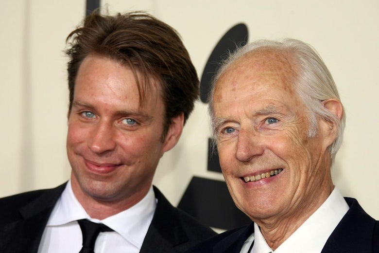 Giles and George Martin.
