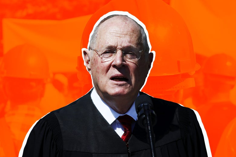 Supreme Court Associate Justice Anthony Kennedy.