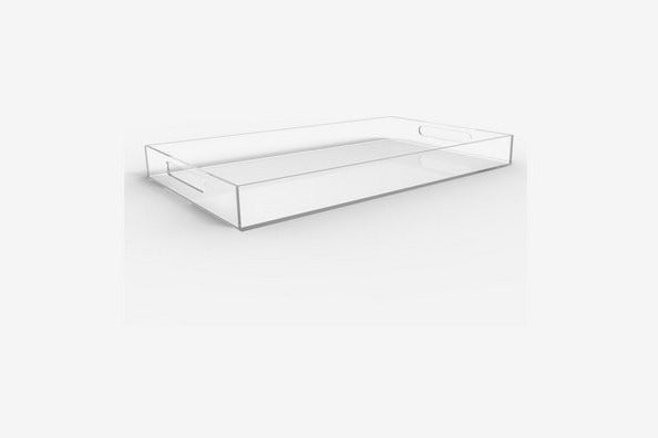 Vale Arbor Clear Serving Tray