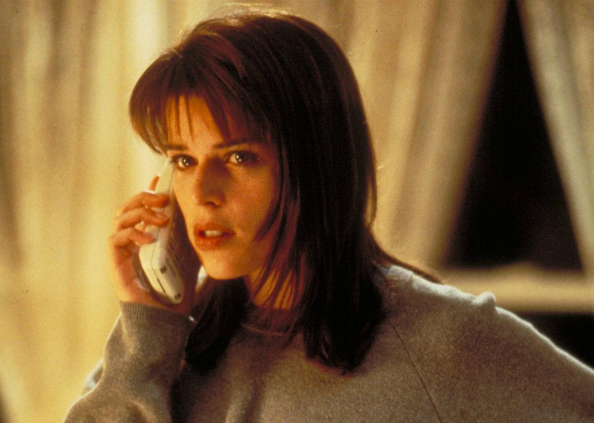 Scream's script-flipping Final Girl, Sidney (Neve Campbell).
