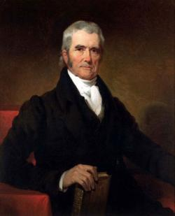 Chief Justice John Marshall.