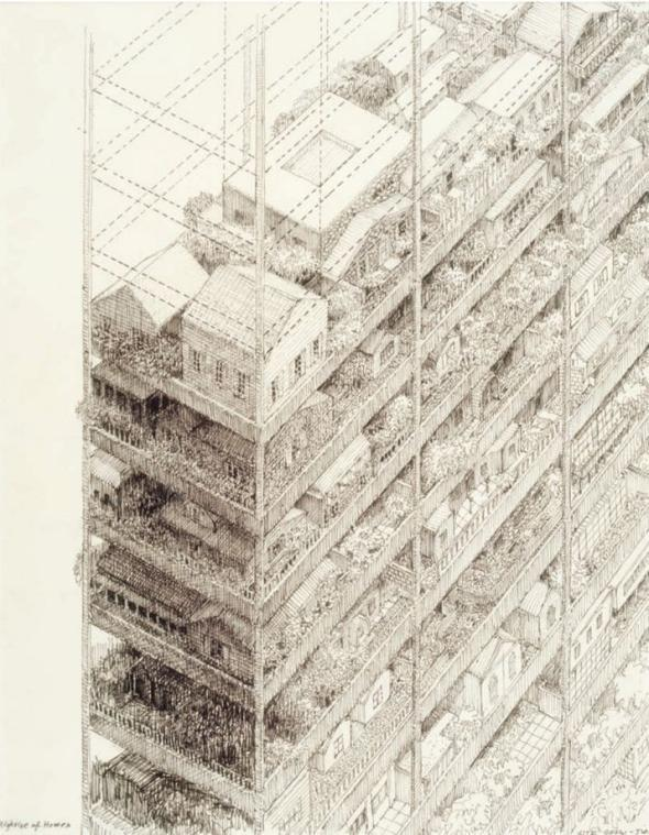100 Years Of Architectural Drawing By Neal Bingham Chronicles A Lost