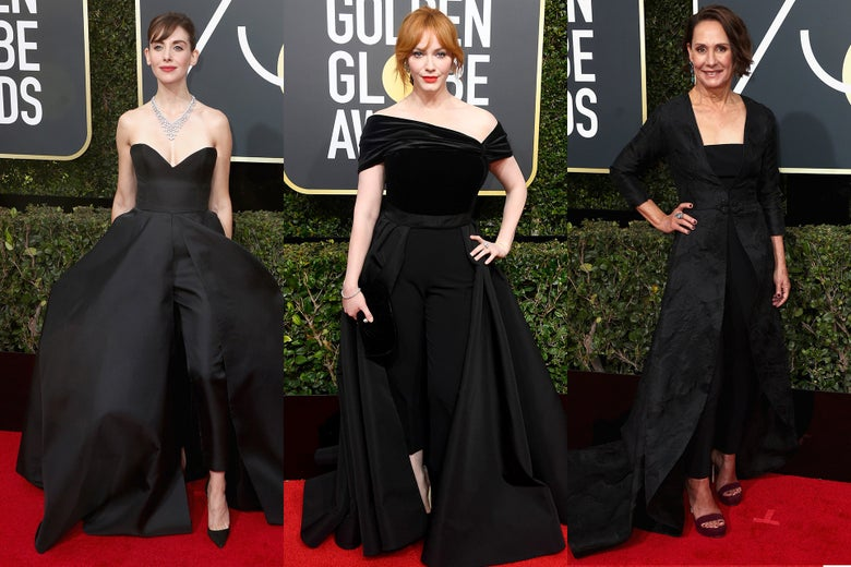 Alison Brie, Christina Hendricks, and Laurie Metcalf.
