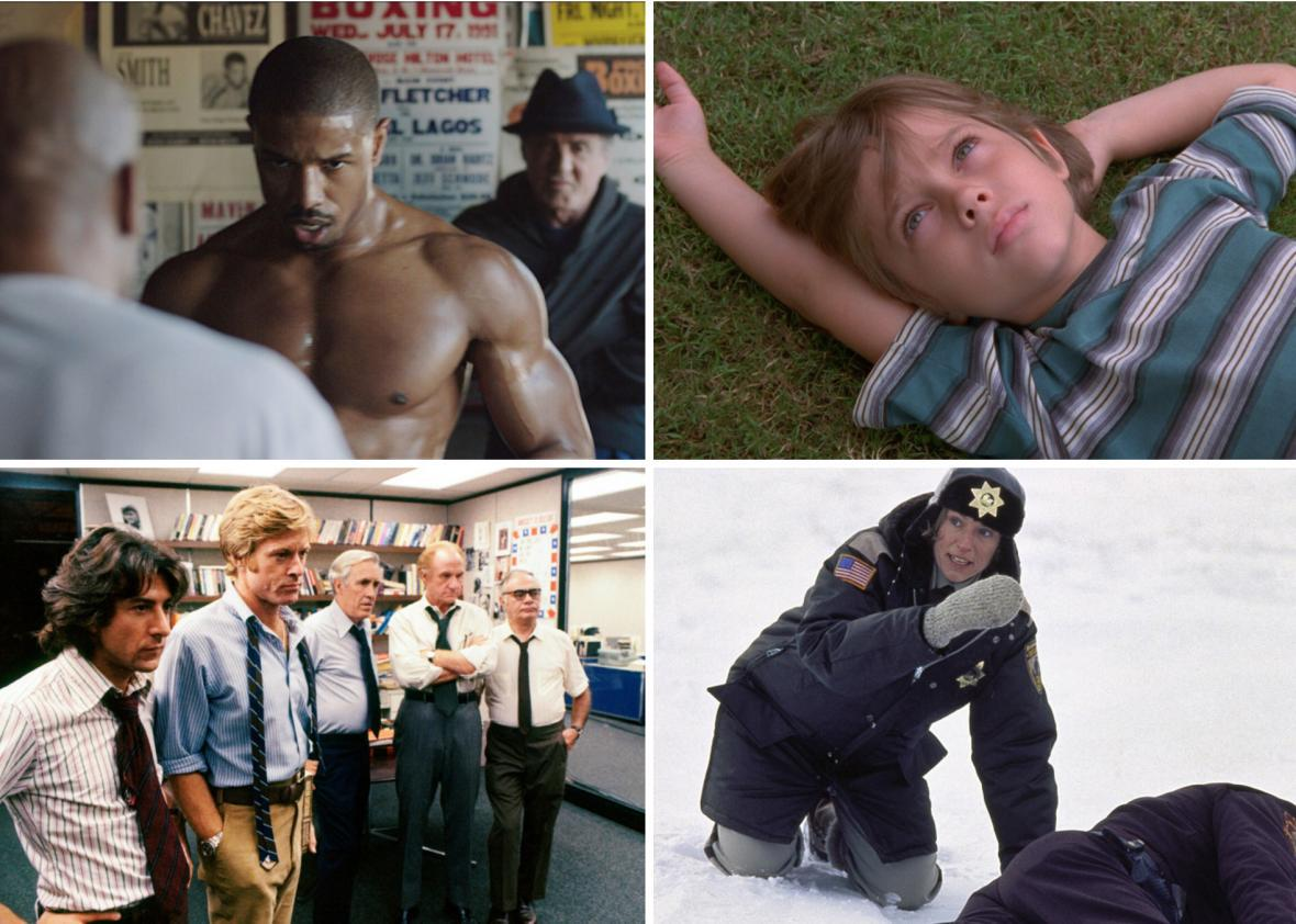 Creed, Boyhood, All the President's Men, and Fargo are just a few of the great movies coming to streaming in November.