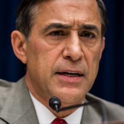 Darrell Issa holding forth at his Oct. 10 hearing on the Benghazi attack