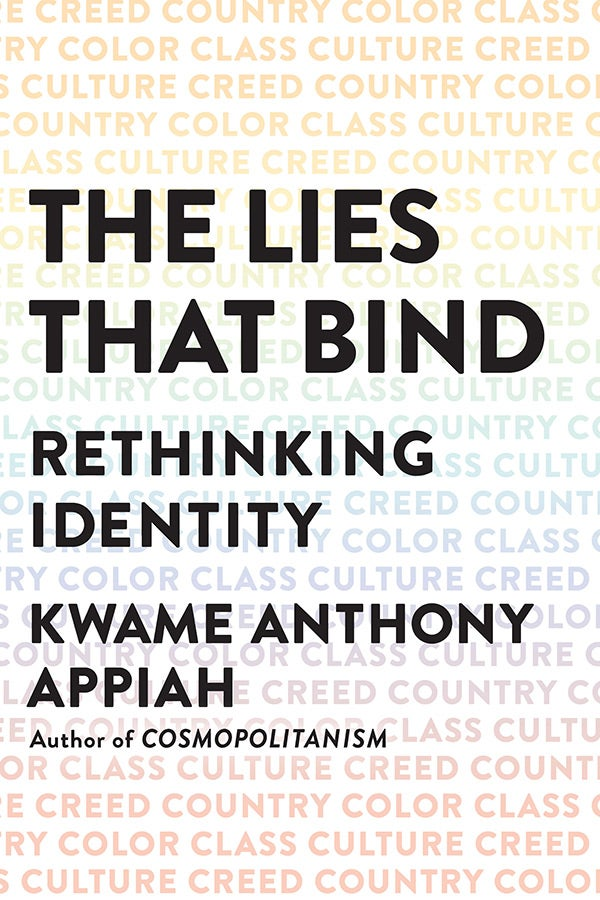 The cover of The Lies That Bind.