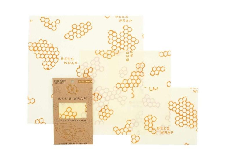 Bee's Wrap Reusable Food Storage.