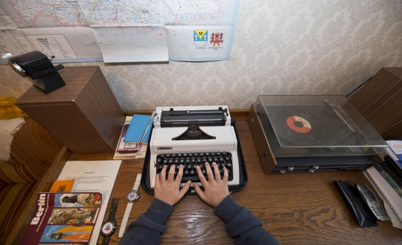 For the more whimsical, you could try writing for free on a typewriter.