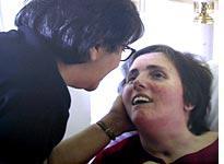 Terri Schiavo and her mother, Mary Schindler