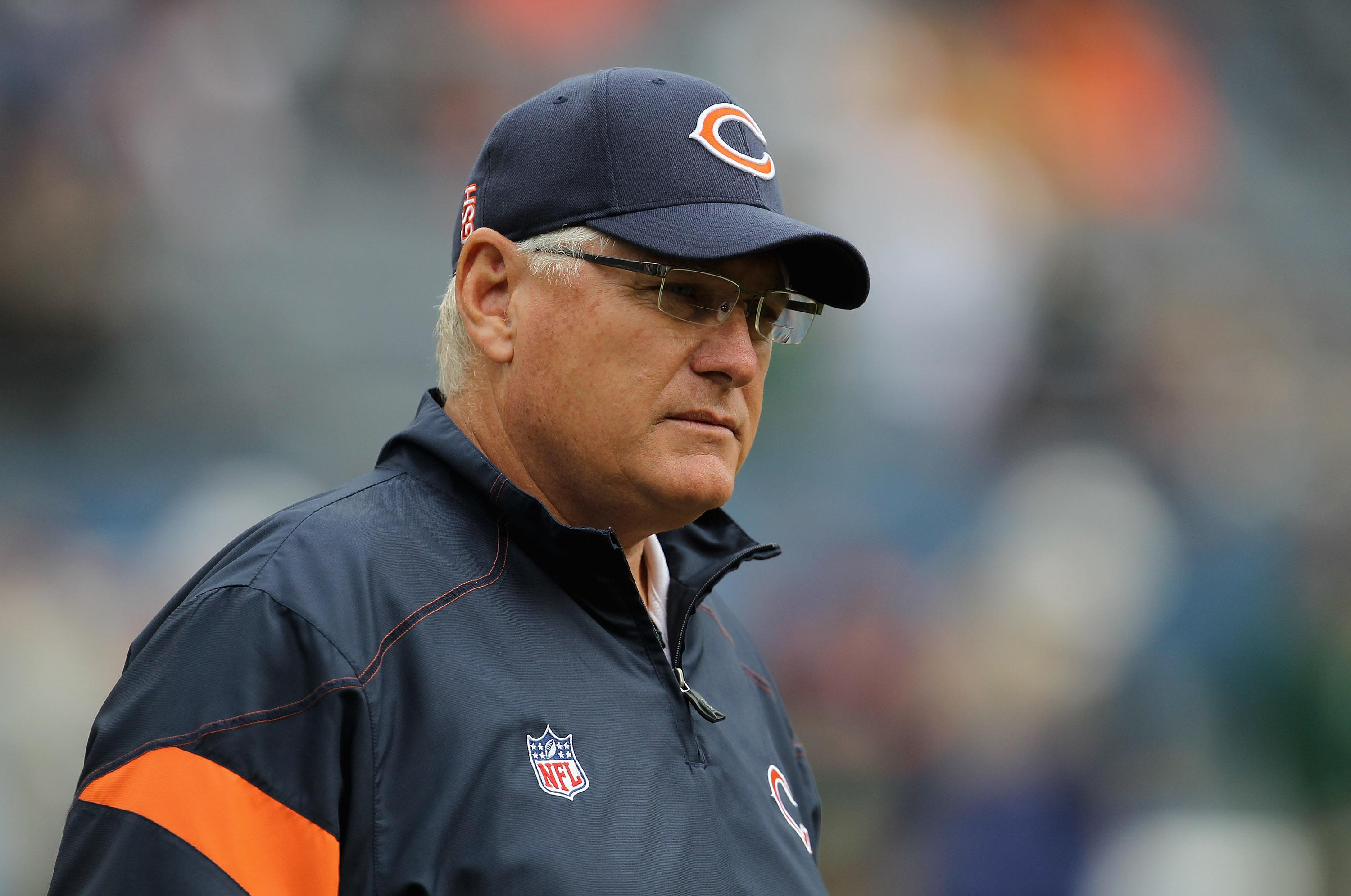 Offensive coordinator Mike Martz of the Chicago Bears.