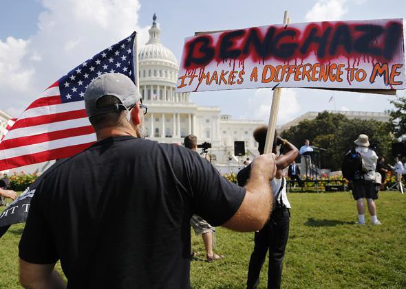 Benghazi protest 9/11