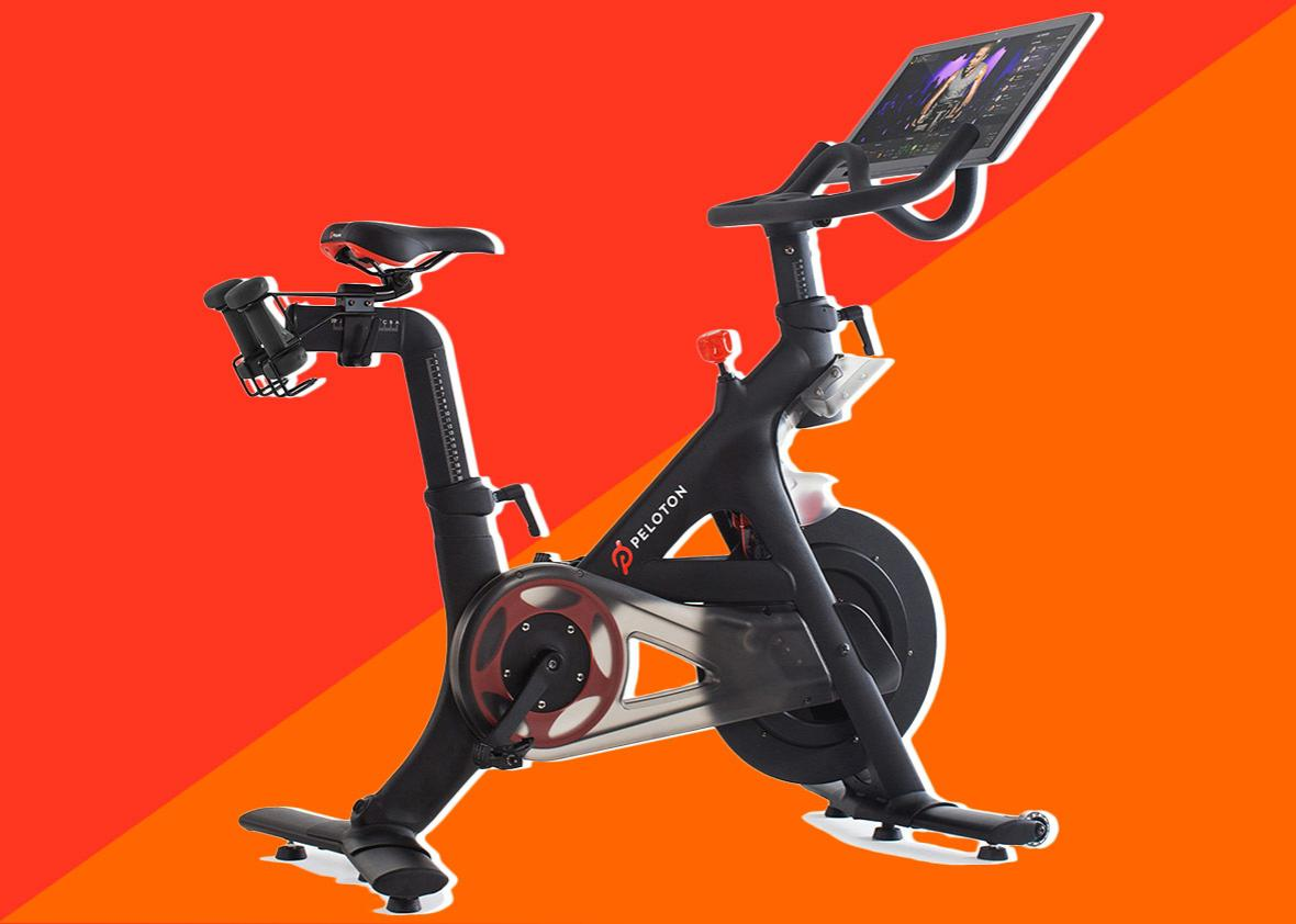 How to have fun riding a stationary bike for your New Year's