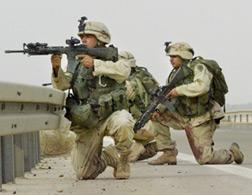 Soldiers in Iraq. Click image to expand.