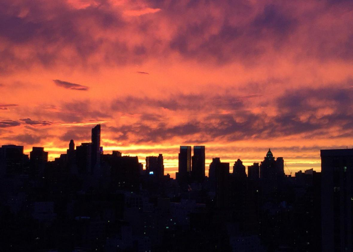 Sunset Quality Forecasts Are Here For New York City