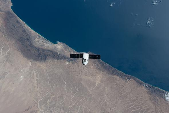 SpaceX Dragon Capsule Photo Gallery