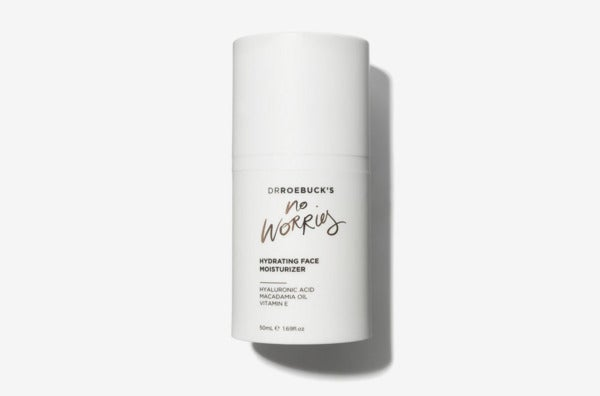 Dr. Roebuck's No Worries Hydrating Face Moisturizer.