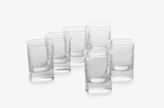 Luigi Bormioli Strauss SON.hyx Shot Glasses.
