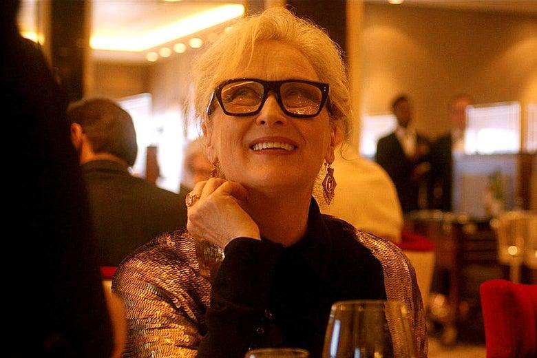 Meryl Streep in Let Them All Talk.