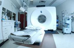 CT medical scanner.
