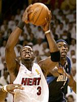Dwyane Wade of the Miami Heat          Click image to expand.