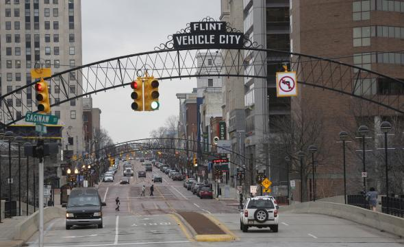 Downtown Flint keeping it real