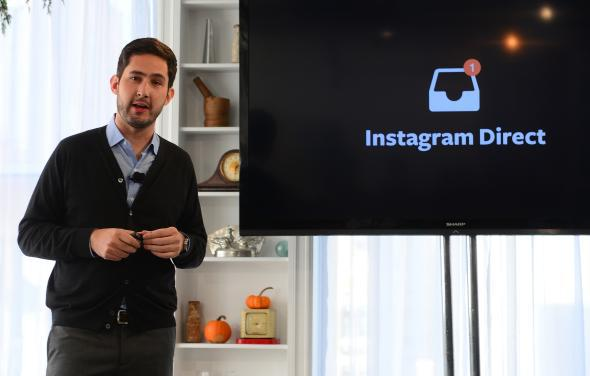 Kevin Systrom launches Instagram Direct