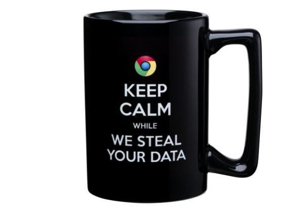 "Microsoft ""Keep Calm"" coffee mug"