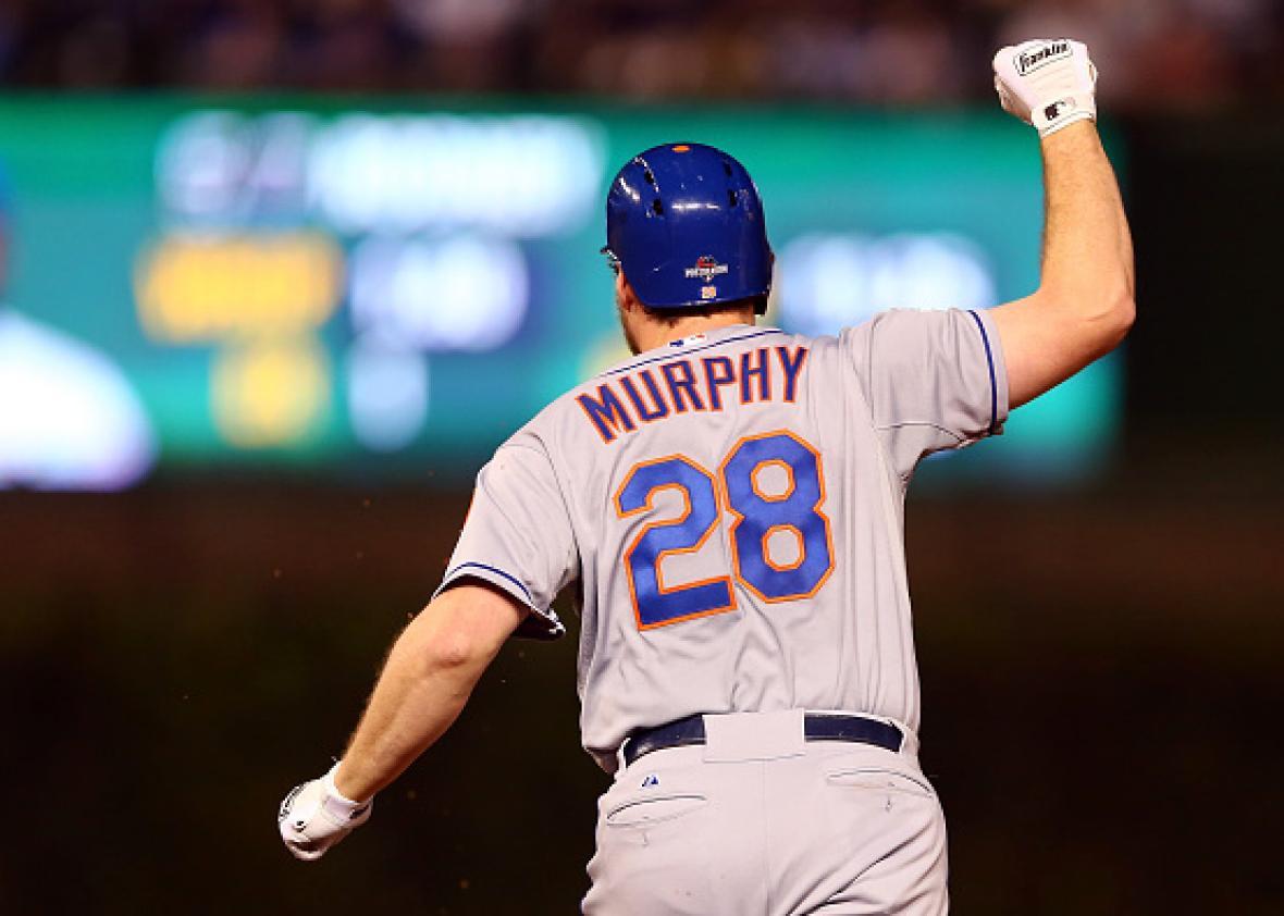 save off d80ce 97d00 Daniel Murphy sets postseason homer record as Mets advance ...