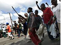 Kenyans protest the elections         Click image to expand.