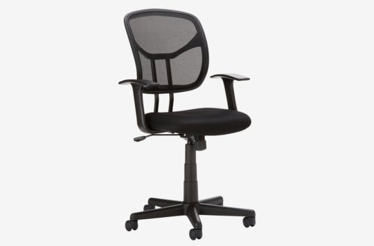 AmazonBasic Mid-Back Mesh Chair.