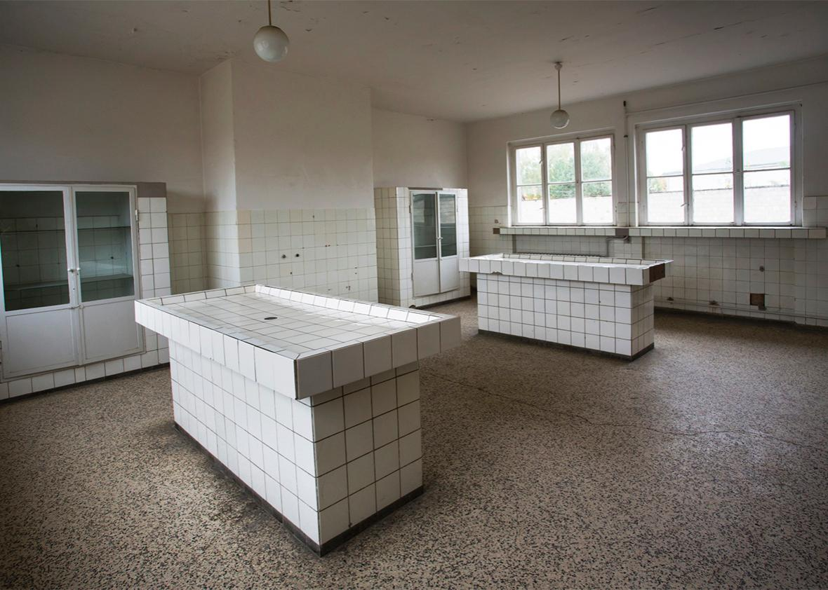 morgue.